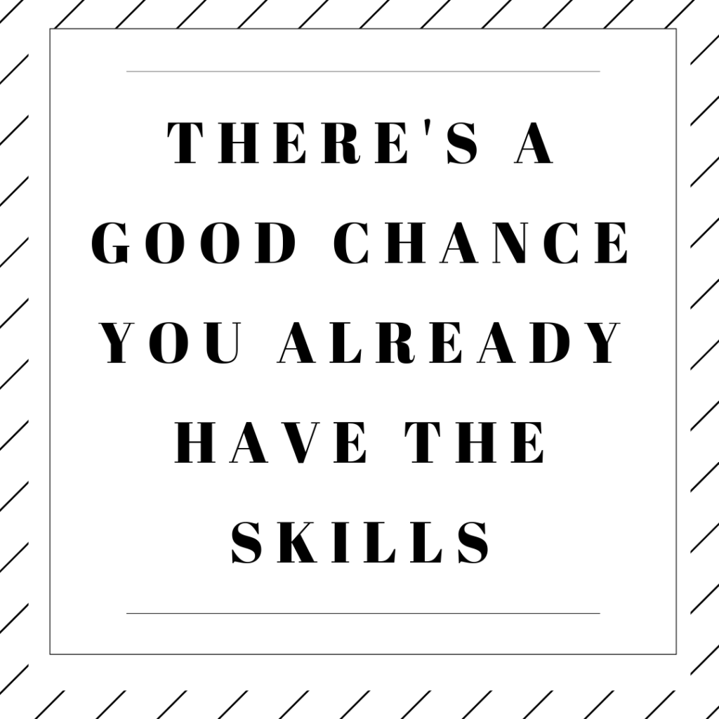 Quote: There's a good chance you already have the skills to gain sales career momentum.