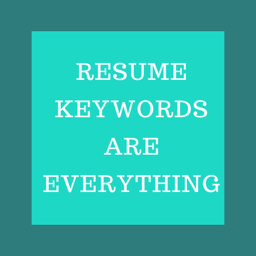 professional resume writer uses keywords for success