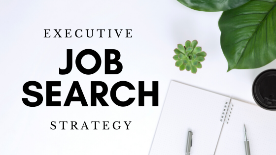executive job search planning