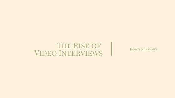 The Rise of Video Interviews